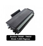 Toner  TN580 / TN650 para Impresora Brother
