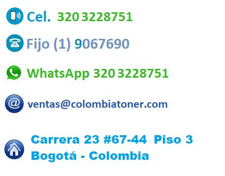 Contacto Colombia toner